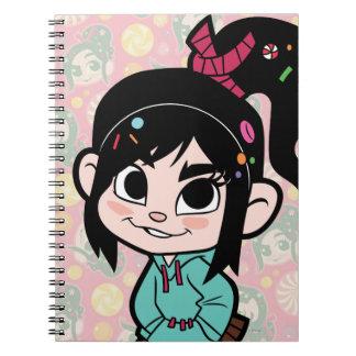 Vanellope Von Schweetz 2 Spiral Notebooks