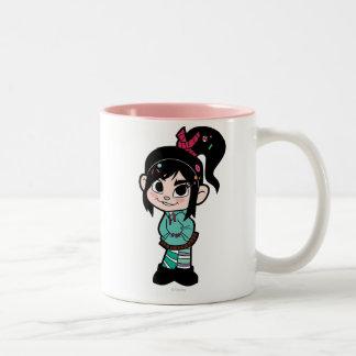Vanellope Von Schweetz 2 Two-Tone Coffee Mug