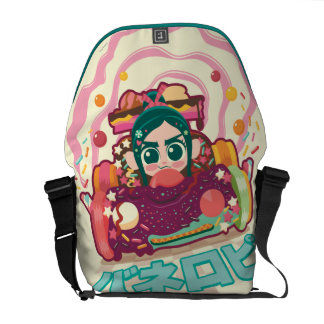 Vanellope Von Schweetz Driving Car Courier Bag