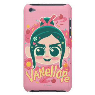 Vanellope Von Schweetz Face Barely There iPod Cases