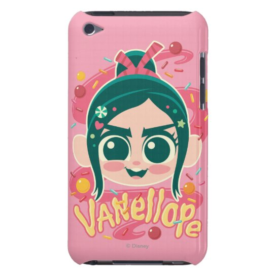 Vanellope Von Schweetz Face Barely There iPod Cover