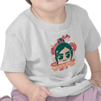 Vanellope Von Schweetz Face Camiseta