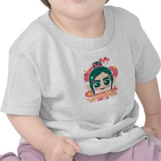 Vanellope Von Schweetz Face Camisetas