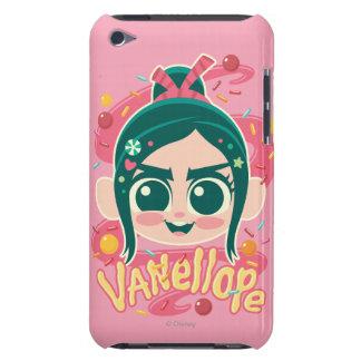 Vanellope Von Schweetz Face iPod Case-Mate Carcasas