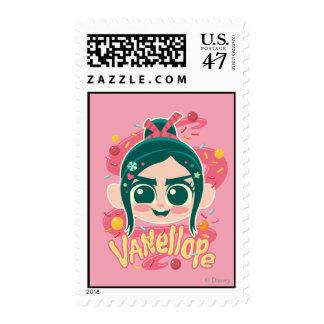 Vanellope Von Schweetz Face Postage