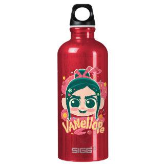 Vanellope Von Schweetz Face Water Bottle