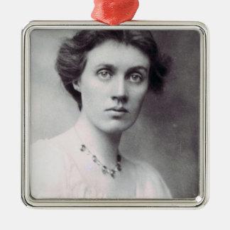 Vanessa Bell, 1902 Metal Ornament