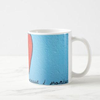 vanessa i promise coffee mug