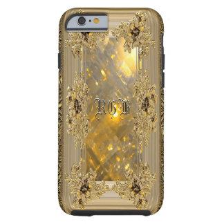 Vanfleet Mirage Girly Victorian Monogram Tough iPhone 6 Case