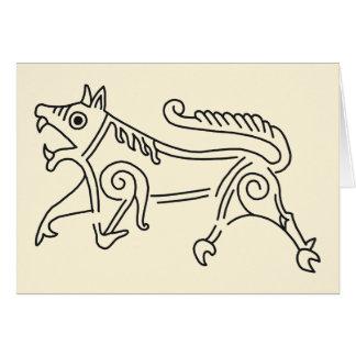 Vang Runestone Greeting Card