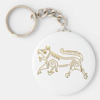 Vang Runestone-gold outline keychain