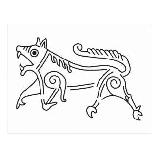 Vang Runestone Postcard