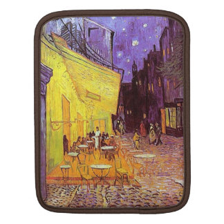 VanGogh Cafe Terrace at Night Fine Art iPad Sleeve