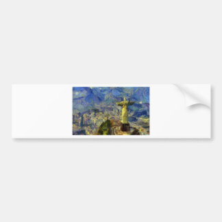 vangogh_christ-the-redeemer bumper sticker