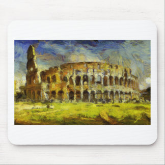 vangogh_coloseum mouse pad