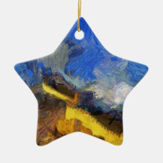 vangogh_greatwall ceramic ornament
