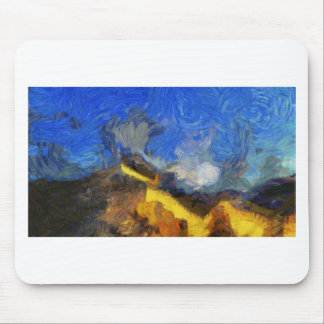 vangogh_greatwall mouse pad