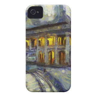vangogh hong kong court iPhone 4 Case-Mate case
