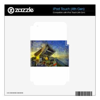 vangogh hong kong peak iPod touch 4G skin
