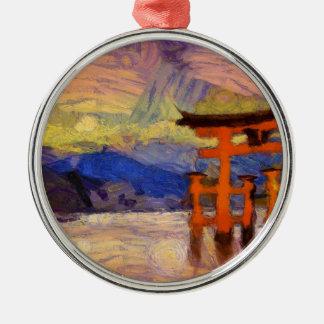 vangogh japangates metal ornament