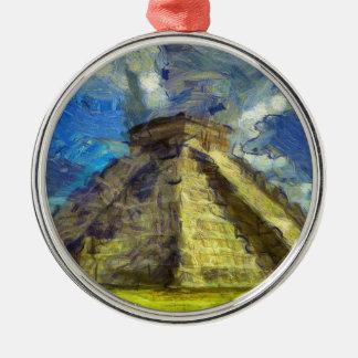 vangogh mexico metal ornament