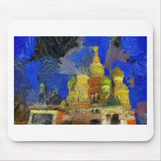 vangogh moscow mouse pad