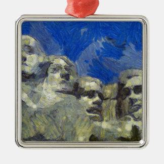 vangogh presidenthill metal ornament