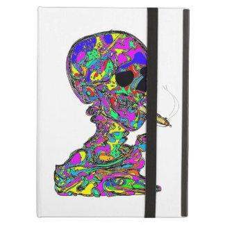 VanGogh s Calavera Skull Smoking Cigarette iPad Folio Cases