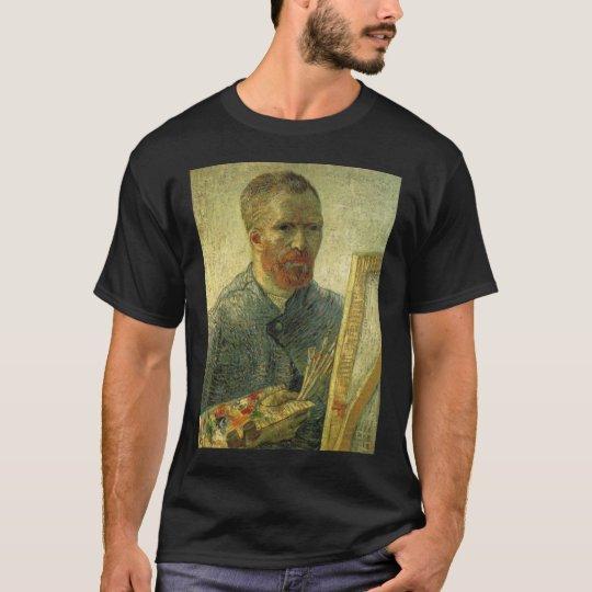 vangogh self portait as an artist  vincent willem  T-Shirt