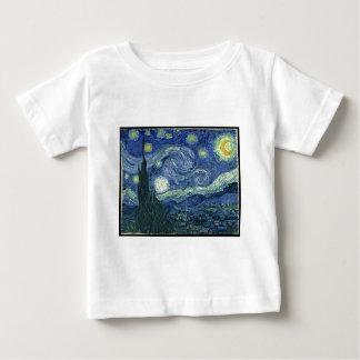 VanGogh starry night Baby T-Shirt