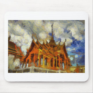 vangogh Thailand GrandPalace Mouse Pad