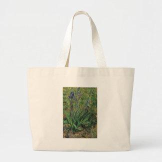 Vangogh The Iris Vintage Post impressionist Canvas Bag