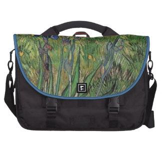 Vangogh The Iris Vintage Post impressionist Commuter Bag