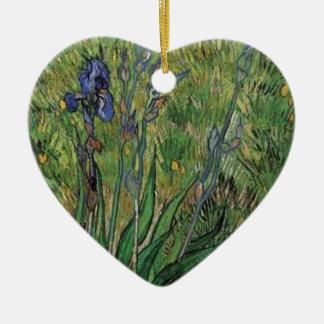 Vangogh The Iris Vintage Post impressionist Christmas Ornament