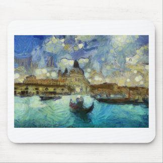 vangogh venice-canal mouse pad