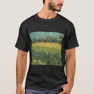 vangogh view of arles with irises  vincent willem  T-Shirt