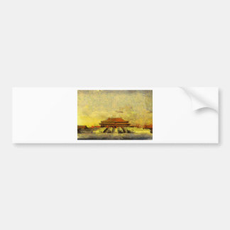 vangoghize_Forbidden-City Bumper Sticker