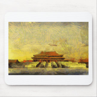 vangoghize_Forbidden-City Mouse Pad
