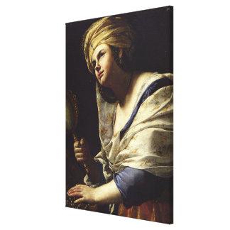 Vanidad, c.1650-70 (aceite en lona) impresiones de lienzo