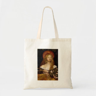 Vanidad - doncella medieval bolsa tela barata