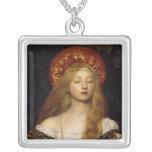 Vanidad - doncella medieval joyería