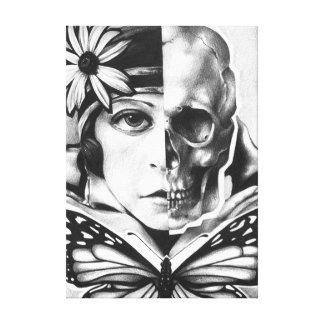 vanidad y muerte impresion en lona