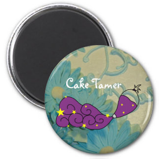 Vanilla Cake and Cake Tamer Magnet