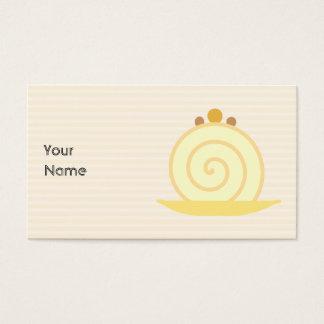 Vanilla Cake. Business Card