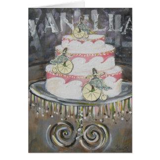 Vanilla Cake Ladies Card
