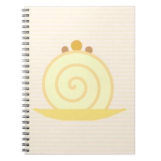 Vanilla Cake Notebooks