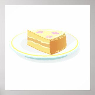 Vanilla Cake Poster