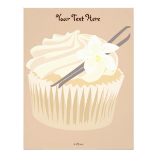 Vanilla Cupcake Letterhead