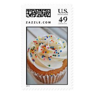 Vanilla Cupcake Photograph l Stamps