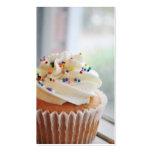 Vanilla Cupcake Photograph lll Business Cards